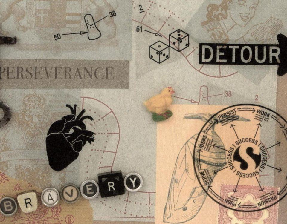Collage zum Thema Paartherapie